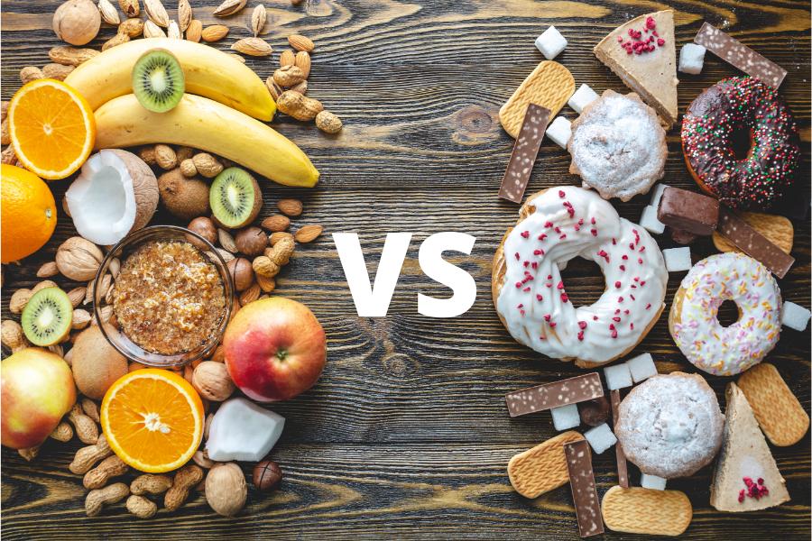 Fruits VS Sweets